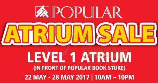 Popular Atrium sale feat 17 May 2017