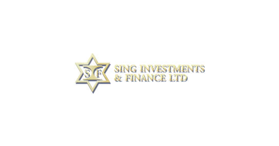 Sing Investments Finance logo 12 May 2017