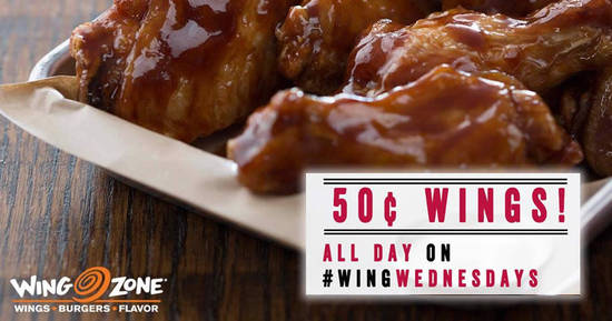 Wing Zone feat 16 May 2017