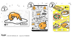 Featured image for EZ-Link launches NEW Sanrio Gudetama cards in three designs! Available from 13 Jun 2017