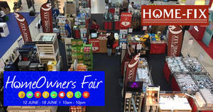 Featured image for Home-Fix Homeowners Fair with discounts of over 40% off at Bukit Panjang Plaza! From 12 – 18 Jun 2017
