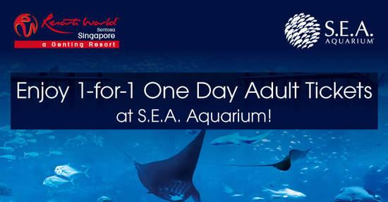 S.E.A. Aquarium feat 30 Jun 2017