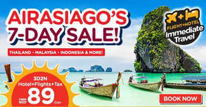 Featured image for Air Asia Go: Grab a 3D2N vacation fr $89/pax (Hotel + Flights + Taxes)! Book from 31 Jul – 6 Aug 2017