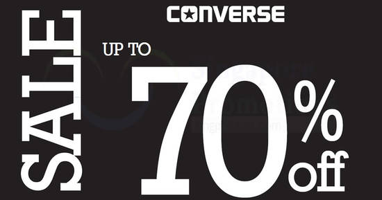Converse sale feat 26 Jul 2017