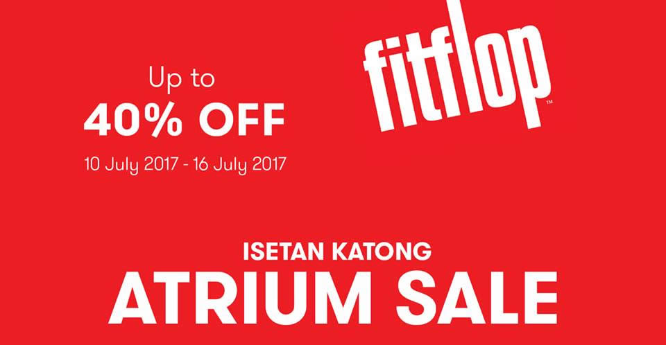 wholesale dealer 05a50 7fa70 FitFlop up to 40% off atrium sale at Parkway Parade! From 10 ...