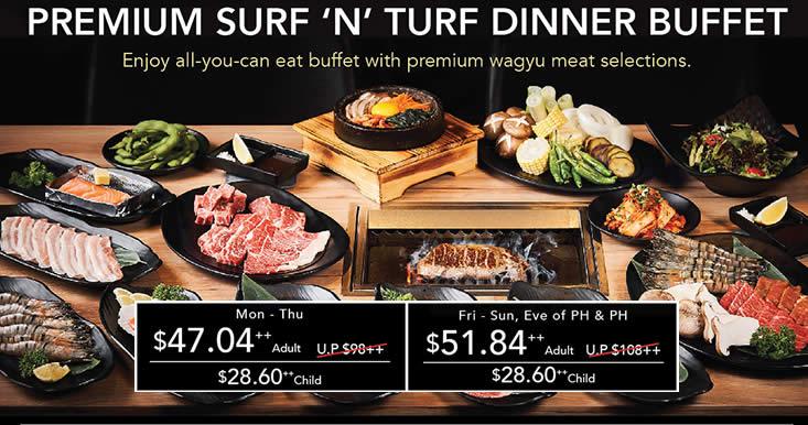 Gyuu At Emporium Shokuhin 52 Off Premium Surf N Turf