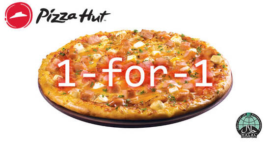 Pizza Hut 1FOR1 18 Jul 2017