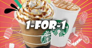 Starbucks: 1-for-1 on ALL Venti-sized handcrafted beverages promotion to return from 26 – 29 August 2019