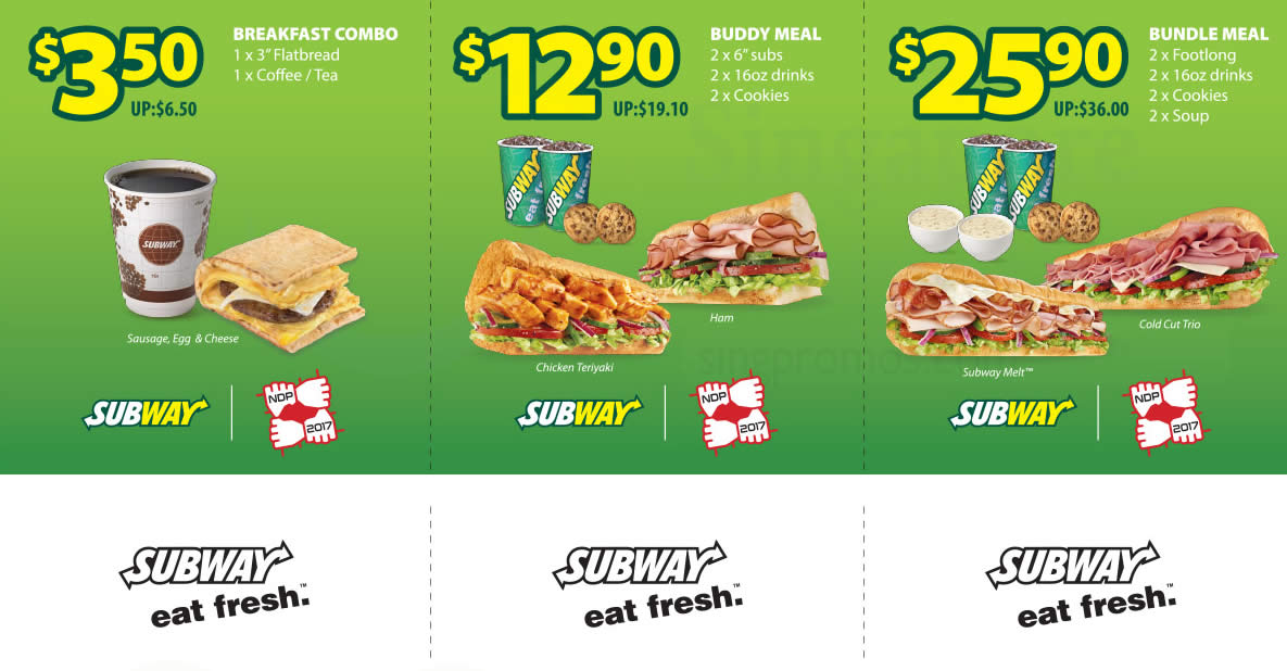 Subway Save Up To 10 With These Discount Coupons Valid