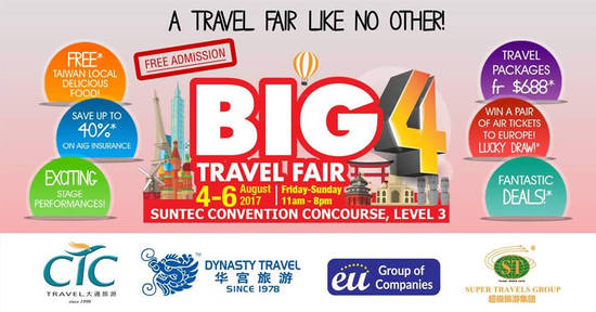 BIG 4 Travel feat 1 Aug 2017
