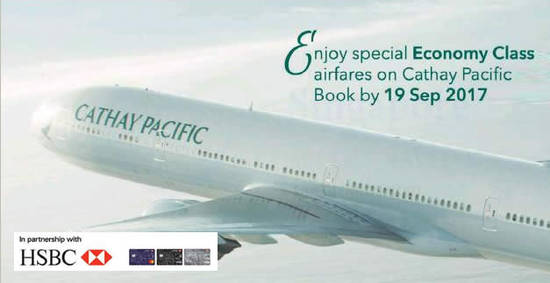 Cathay Pacific feat 30 Aug 2017