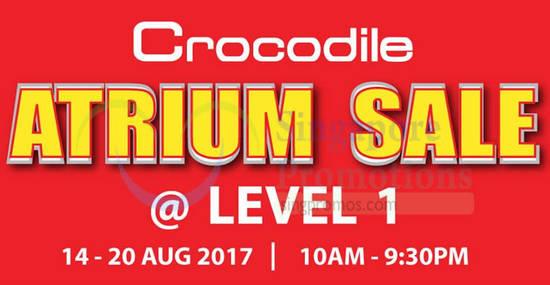 Crocodile Atrium feat 14 Aug 2017