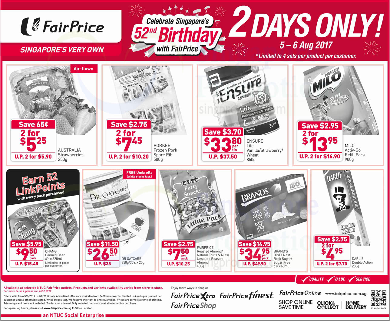 Fairprice two-days offers – Milo, Brand's & more! From 5 ...