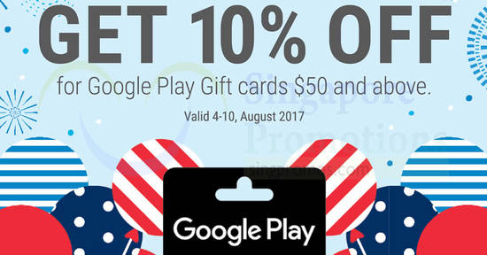 Google Play feat 4 Aug 2017