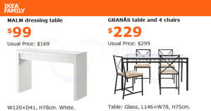 Featured image for IKEA: Grab savings of up to $70 on selected items! Valid from 31 Aug – 1 Oct 2017