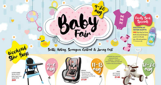 Isetan Baby Fair feat 1 Aug 2017