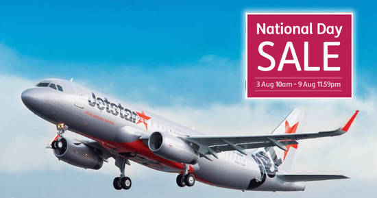 Jetstar Airways 3 Aug 2017