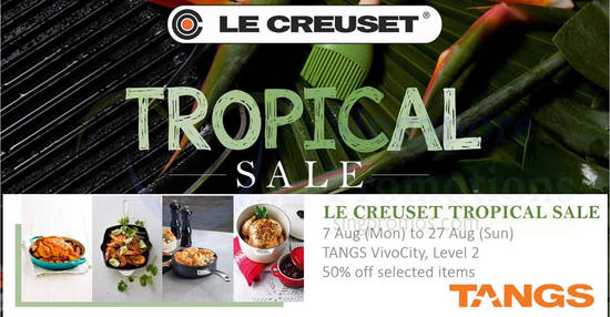 Le Creuset feat 7 Aug 2017