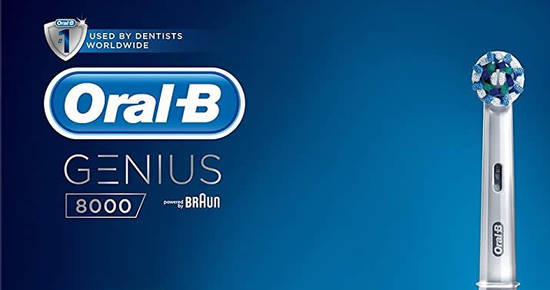Oral B Genius 8000 Electric Rechargeable Toothbrush 2
