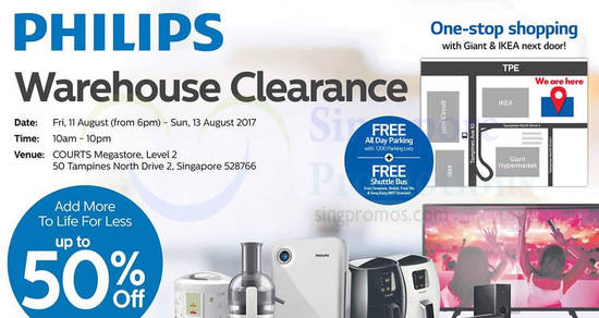 Philips warehouse clearance feat 12 Aug 2017