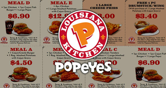 Popeyes feat 29 Aug 2017