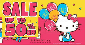 Featured image for Sanrio Gift Gate: 30% to 50% off once-a-year sale at 3 outlets! From 3 – 10 Sep 2017