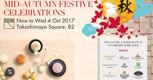 Featured image for Takashimaya Mid-Autumn Festival mooncake fair now on! From 31 Aug – 4 Oct 2017