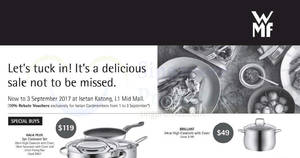 Featured image for WMF sale at Isetan Katong from 31 Aug – 3 Sep 2017