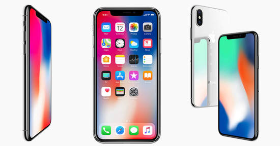 Apple iPhone X 13 Sep 2017