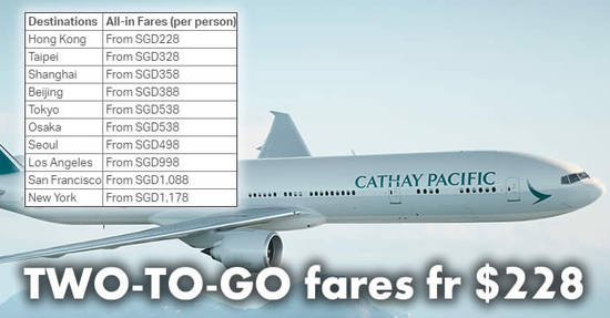 Cathay Pacific 12 Sep 2017