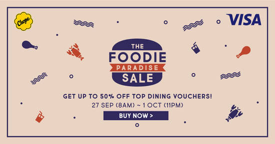 Chope Vouchers feat 26 Sep 2017