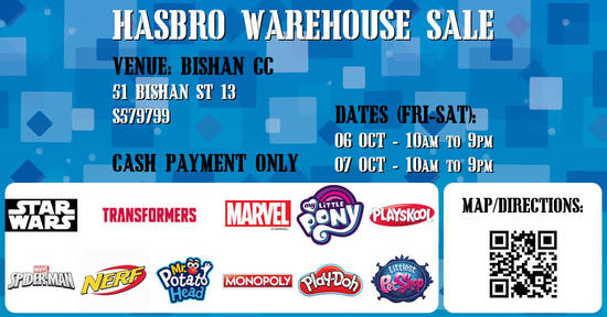 Hasbro Warehouse Sale feat 29 Sep 2017