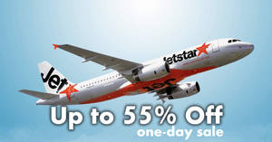 Jetstar: ONE-DAY sale – Up to 55% off Yangon, Phuket & more fr $36 all-in! Ends on 27 Apr 2018, 11pm
