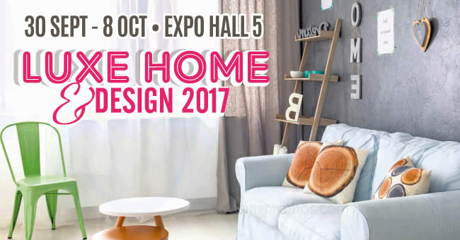 home design expo 2017 luxe home amp design 2017 at singapore expo from 30 sep 8 18142