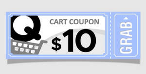 Qoo10: Grab free $10 cart coupons (usable with a min spend of $60) till 13 Apr 2021