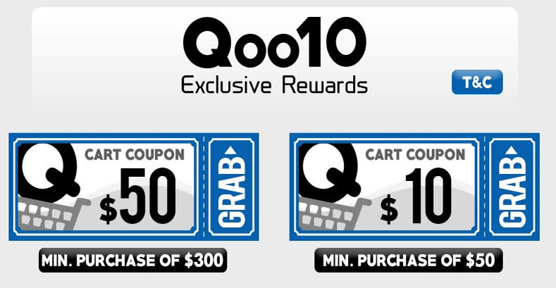 Qoo10 50 off coupon