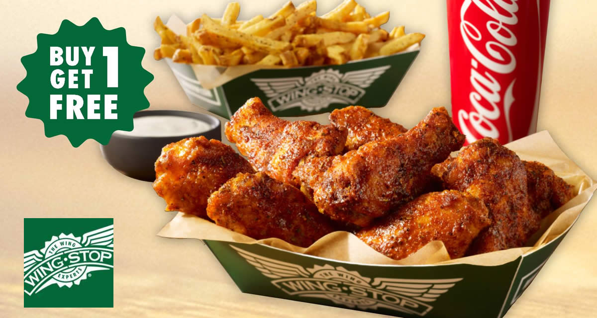 Wingstop: 1-for-1 6pcs Hand-Breaded Wings Combo at 5 outlets! From 9 – 17 Sep 2017