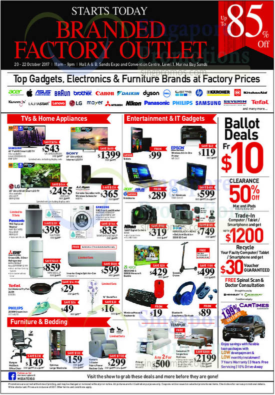 Branded Factory Outlet By Megatex Up To 85 Off Fair From 20 22 Oct 2017