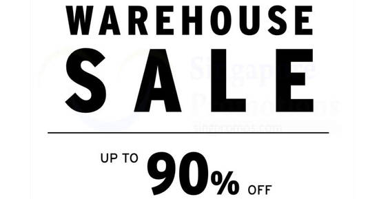 Branded Warehouse Sale feat 13 Oct 2017