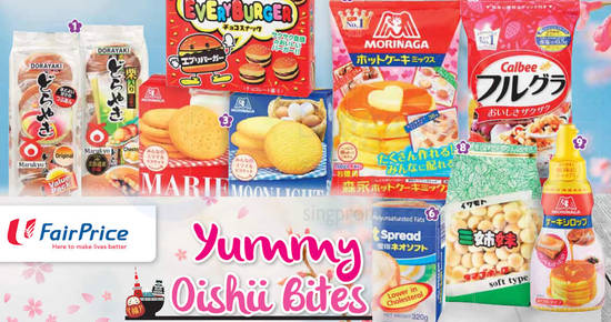 Fairprice Oishii bites feat 19 Oct 2017