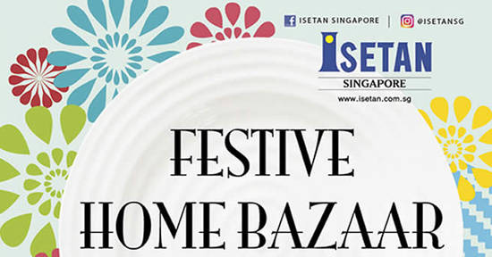 Isetan Festive Home 9 Oct 2017