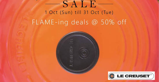 Le Creuset feat 4 Oct 2017
