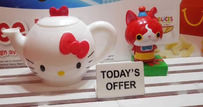 Hello Kitty Mcdonald S Toys : Mcdonald s free sanrio hello kitty toy with every happy meal