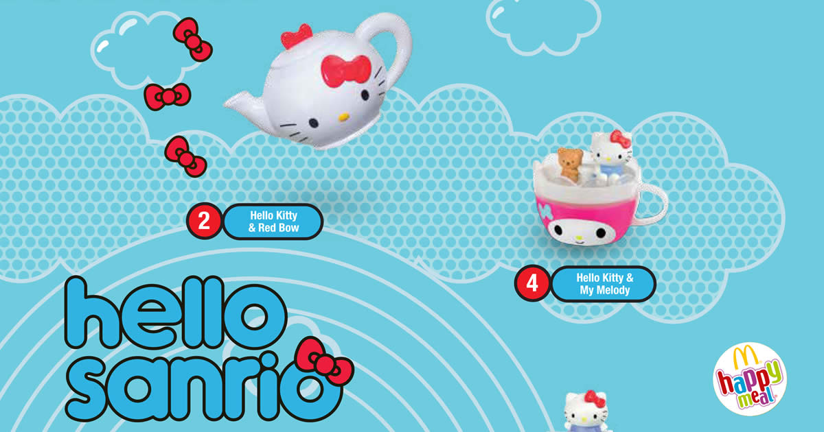 Hello Kitty Toy Food : Mcdonald s free sanrio hello kitty toy with every happy