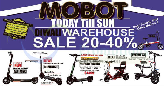 Mobot scooter warehouse feat 17 Oct 2017