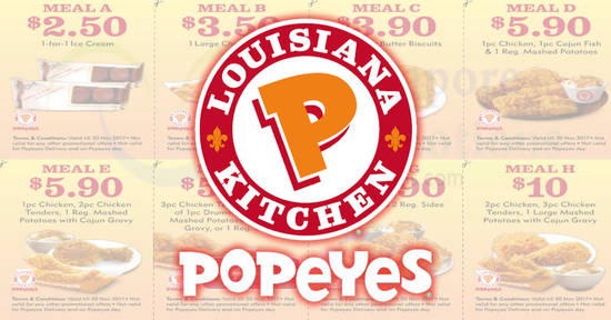Popeyes Save with feat 10 Oct 2017