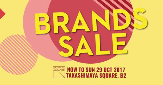 Takashimaya Brand Sale 10 Oct 2017