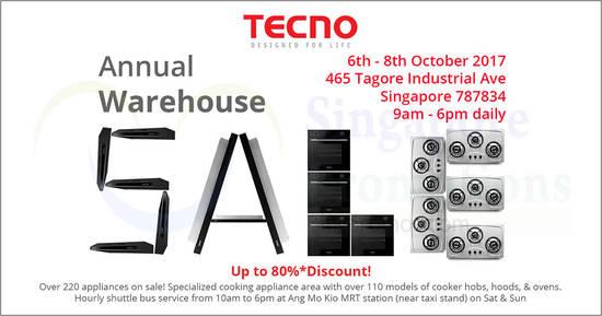Tecno Annual Warehouse feat 2 Oct 2017