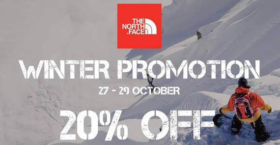 The North Face feat 27 Oct 2017