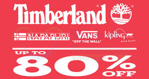074b0e857ce Timberland up to 80% OFF Expo sale! From 2 – 5 Nov 2017